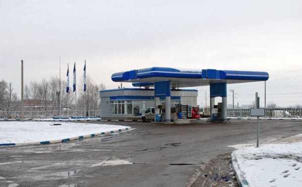 gas station 3