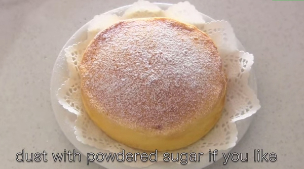 This Japanese Cheesecake With Only 3 Ingredients Has The