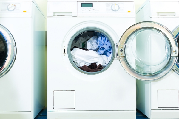 7143860-washing-machines-in-a-laundry