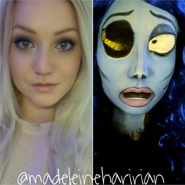 Swedish Madeleine S Special Talent Astounds Makeup Artists