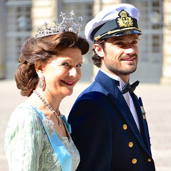 Drottning Silvia & Prins Carl Philip