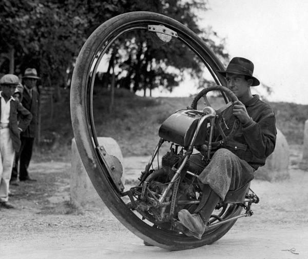 enhjulsmotorcykel