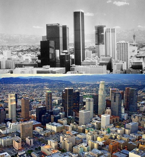 Before and after- seeing how much the world has changed in the last century will blow your mind! - Just something (creative) (2)