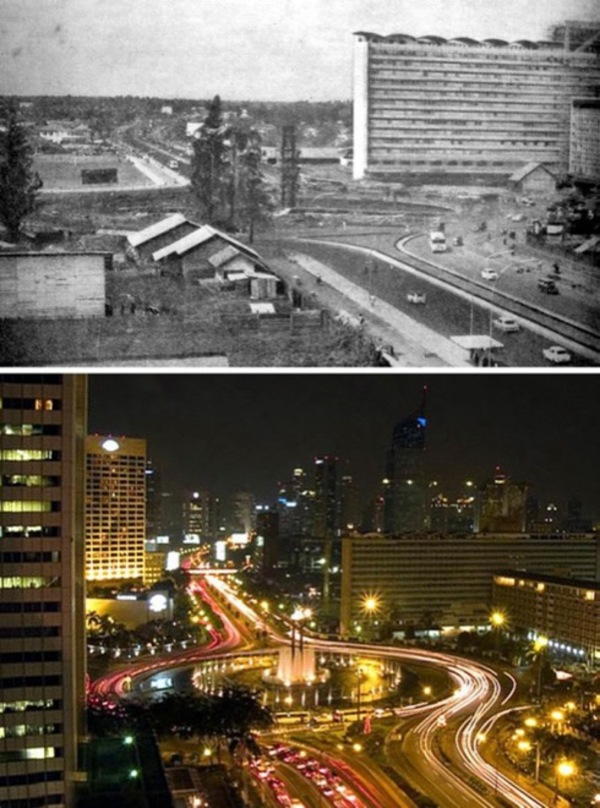 Before and after- seeing how much the world has changed in the last century will blow your mind! - Just something (creative) (7)