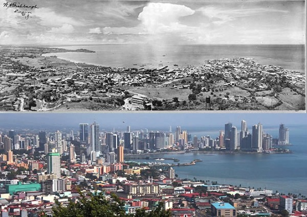 Before and after- seeing how much the world has changed in the last century will blow your mind! - Just something (creative) (10)