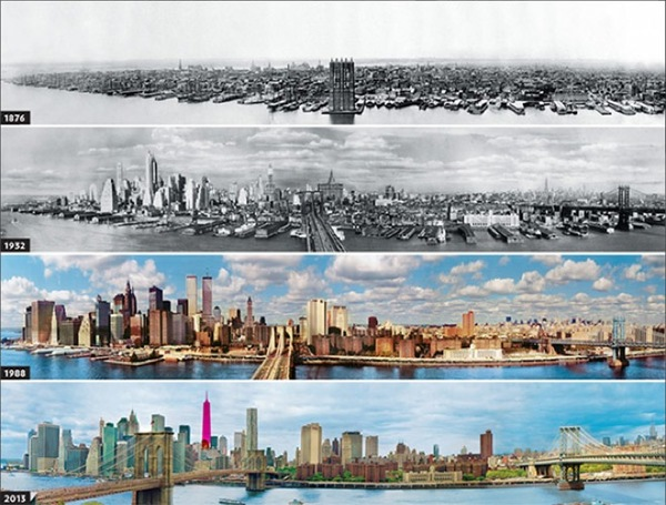 Before and after- seeing how much the world has changed in the last century will blow your mind! - Just something (creative)