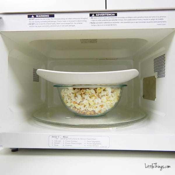 poppa popcorn i mikrovågsugn