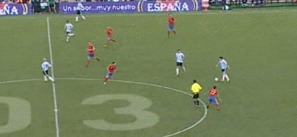 Messi assist Di Maria