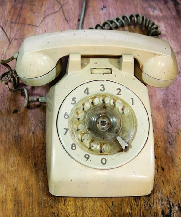 gammaltelefon