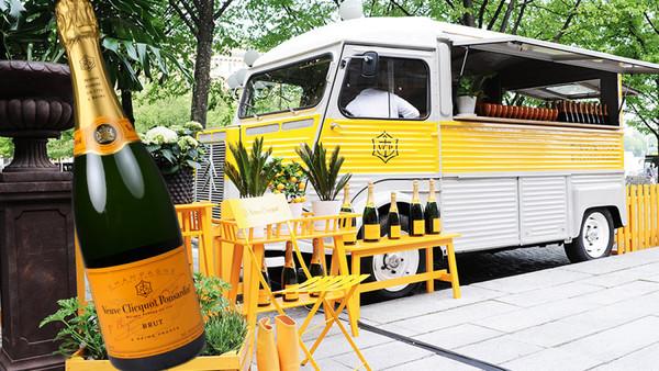 champagnetruck stockholm