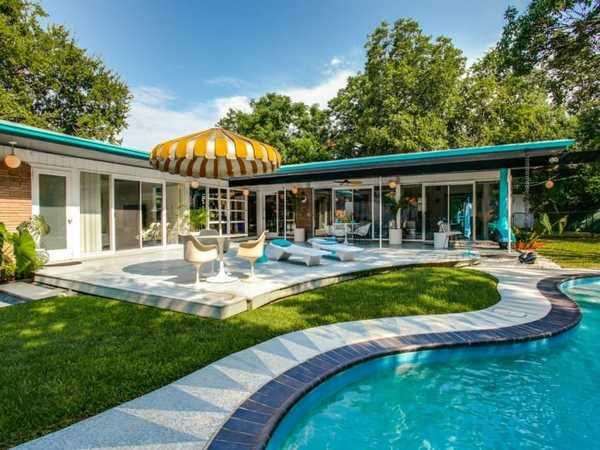 Mid Century Modern Dallas Homes