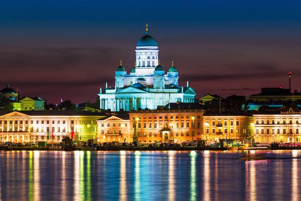 Helsinki maisema