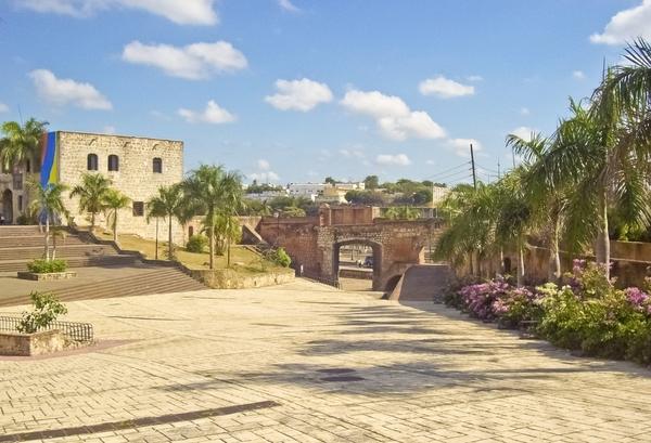 Torget i Santo Domingo.