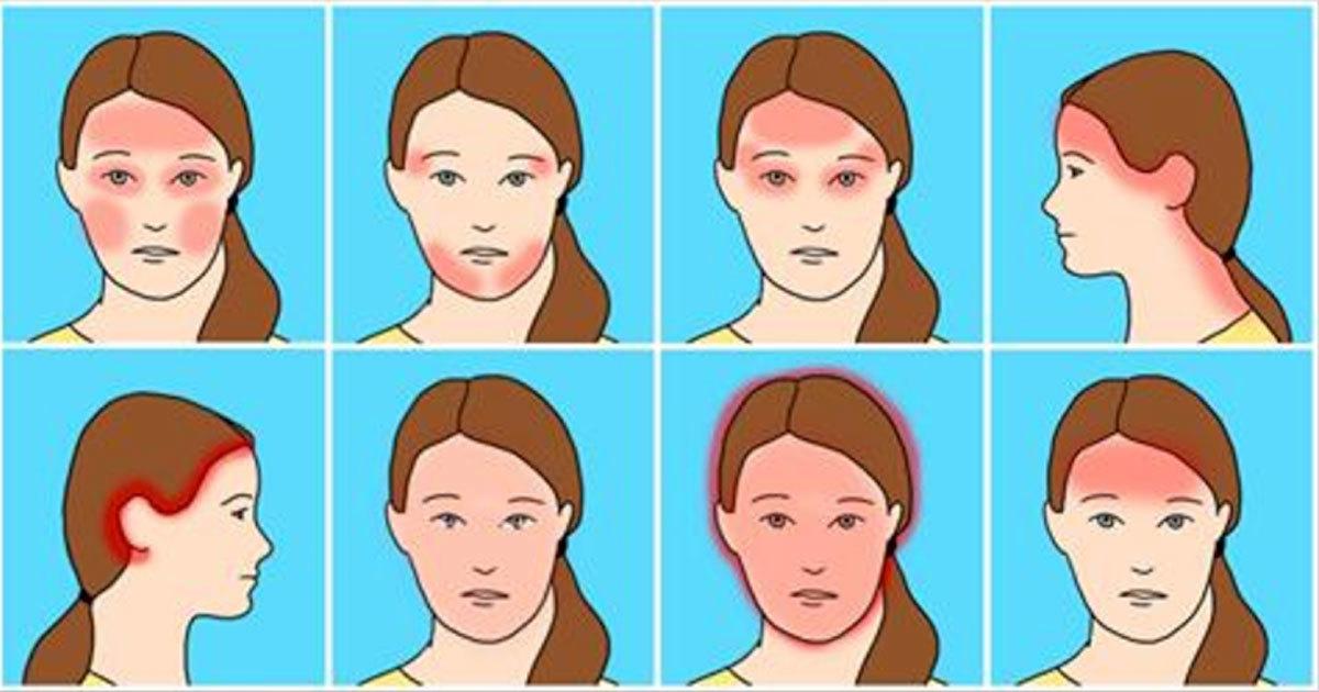 huvudvärk pannan bakom ögonen