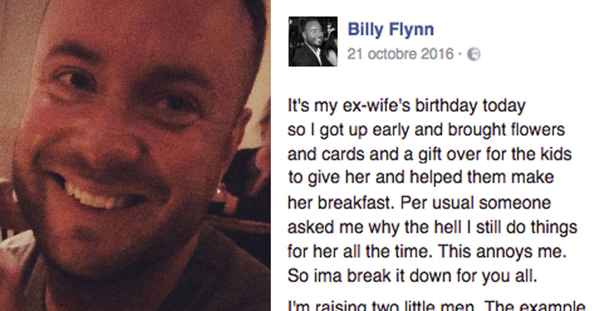 No one understands why dad still sends ex-wife roses – then