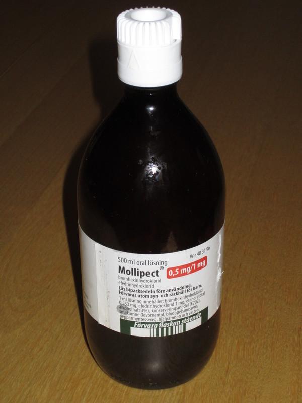 svarta skägget hostmedicin